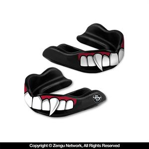 Fight Dentist Fangs Mouth Guard